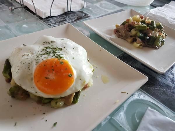 Revuelto con huevo