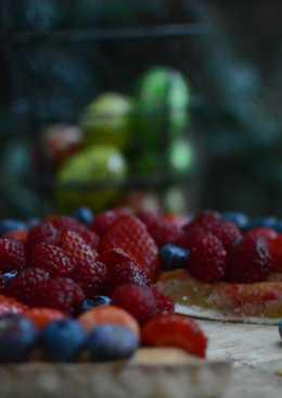 Postre fácil, tartaleta de frutos rojos
