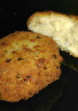 Croquetas veganas de setas y calabacín
