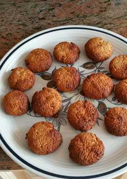 Galletas coco sin gluten