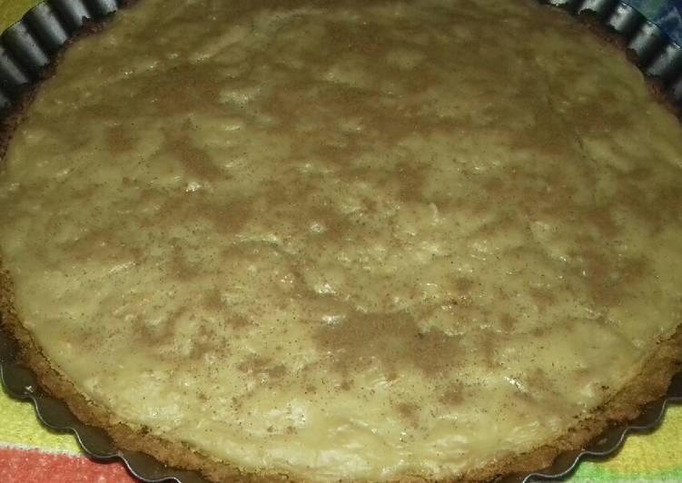 Tarta De Galletitas Y Crema Pastelera Receta De Elizabeth Cookpad