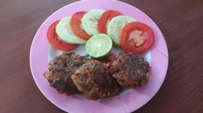 Tortitas de carne con zanahoria MUY Fácil