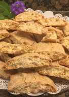 Galletas crujientes de almendras (Cantuccini)