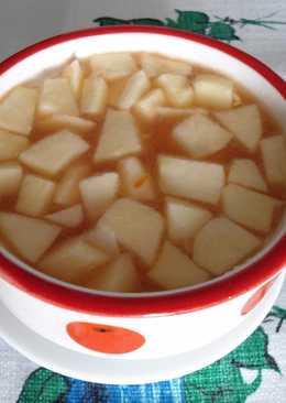 Gazpacho con manzana