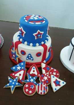 Galletas decoradas con pasta americana
