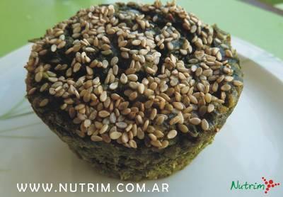 Muffins de Espinaca, Avena y Queso