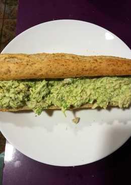 Relleno de aguacate para sándwich, bocadillos, arepas