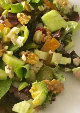 Ensalada para cenar súper saludable y en 5 minutos
