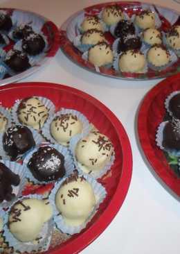 Bolitas de coco (postre navideño)