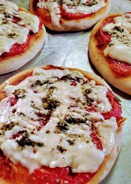 Pizza con polvo de hornear Royal