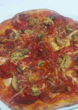 Pizza de Tío joroba (a mi estilo)
