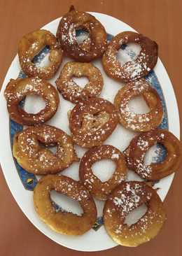 Rosquillas fritas fáciles