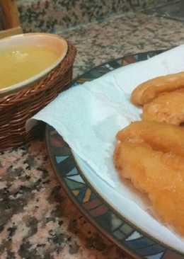 Fingers de pollo con salsa de mostaza y miel