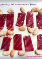 Picaeta de Mojama con Almendras frítas