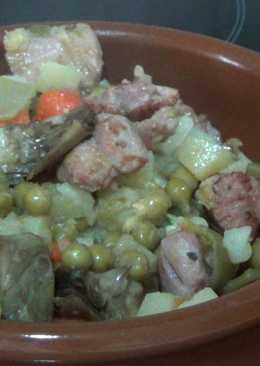 Menestra de verduras (con pavo)