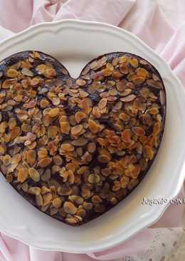 Bizcocho de chocolate y almendra - Receta de Xavi Malacara - Pa de pessic amb xocolata i ametlla