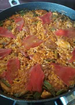 Paella alicantina