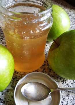 Gelatina de manzana para cobertura