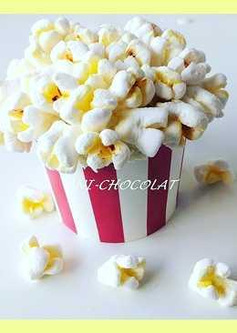 """Cupcakes de cine """"palomitas falsas de marshmallows"""" paso a paso"""