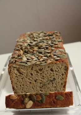 Pan de calabaza y trigo sarraceno sin gluten