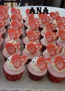 Cupcakes cumpleaños de valentina