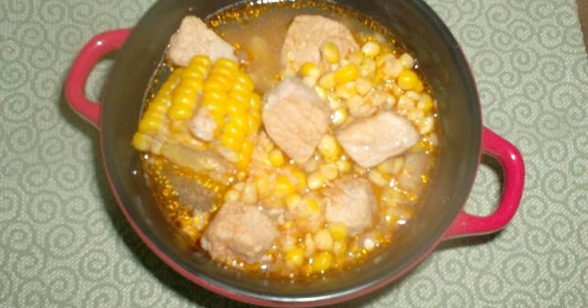 Guiso de ma z con carne de cerdo receta de conchita cookpad - Guiso de carne de cerdo ...
