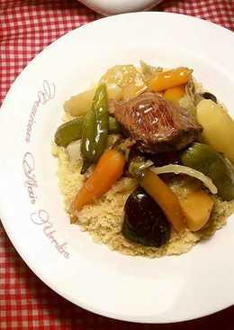 Cuscus con ternera y verduras