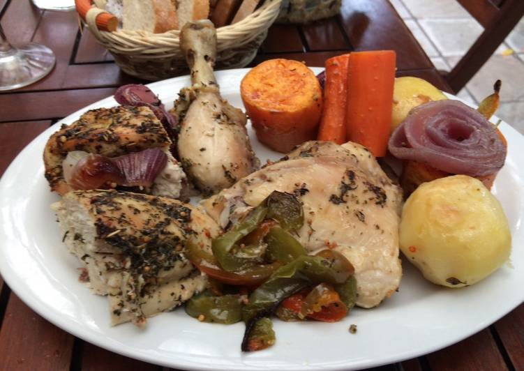 Cocina para principiantes pollo a la bolsa receta de for Cocina para principiantes