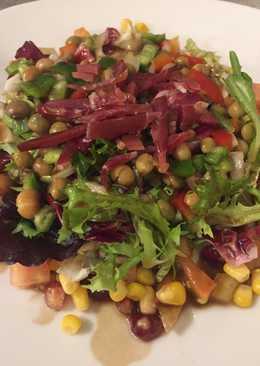 Ensalada de habas 47 recetas caseras cookpad - Ensalada de habitas ...