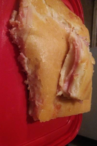Torta de fiambre con masa licuada
