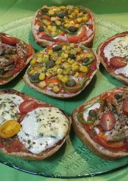 Pizzas chapatas