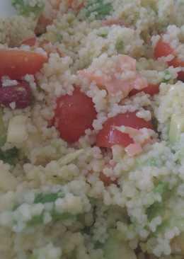 Ensalada de sémola de couscous