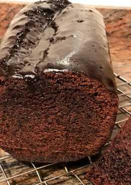 Bizcocho de chocolate cuatro cuartos