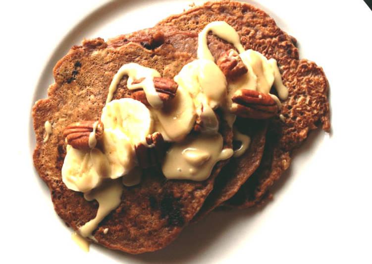 Pancake de proteina de chocolate Receta de Juan David