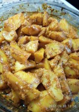 Patatas asadas con mi aliño