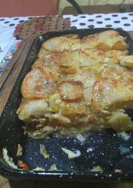 Tortilla más o menos española ? ó tortilla Pampa ?
