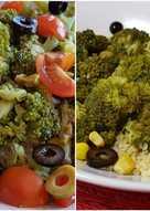Ensalada de brócoli y bulgur (vegano)