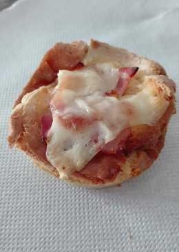 Aperitivos de bacon y queso
