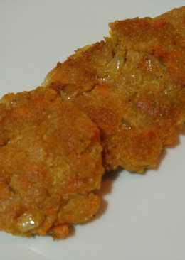 Hamburguesitas de quinoa y zanahoria