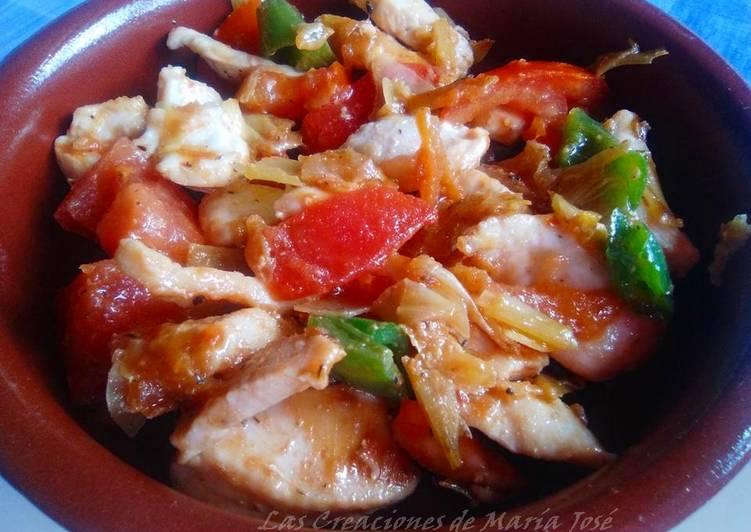 Pechuga de pollo a la italiana