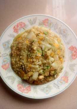 Ensalada de frutas y quinoa