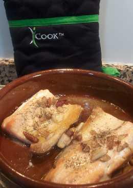 Trucha a la bilbaína: