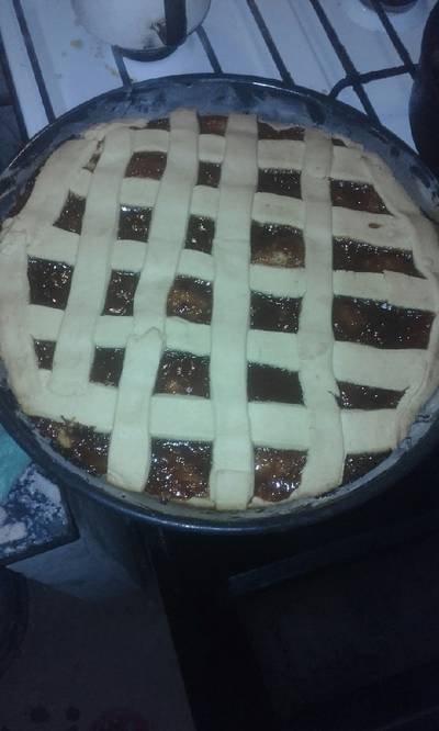 Pasta frola con harina leudante!