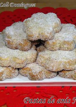 Pastas de anís Navideñas
