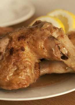 Pollo con la mejor salsa de limón que he probado!