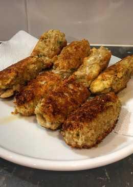 Croquetas de berenjena y queso (con avena) Compatibles con BLW