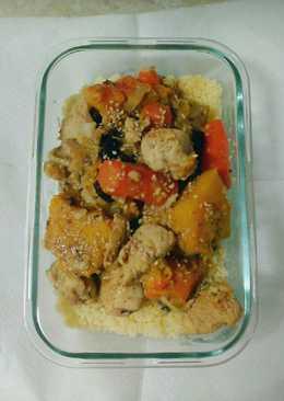 Couscousyine de pollo