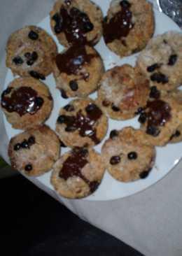 Muffins de salvado de trigo