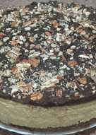 Tarta nata,flan y chocolate