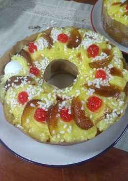 Rosca de Pascua, deliciosa, fácil y económica